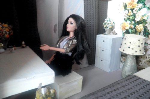 ložnice pro barbie diy