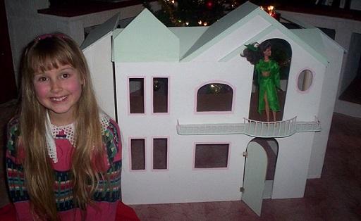 domeček pro Barbie jako vánoční dárek