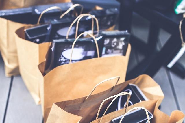 nákupy a dárky