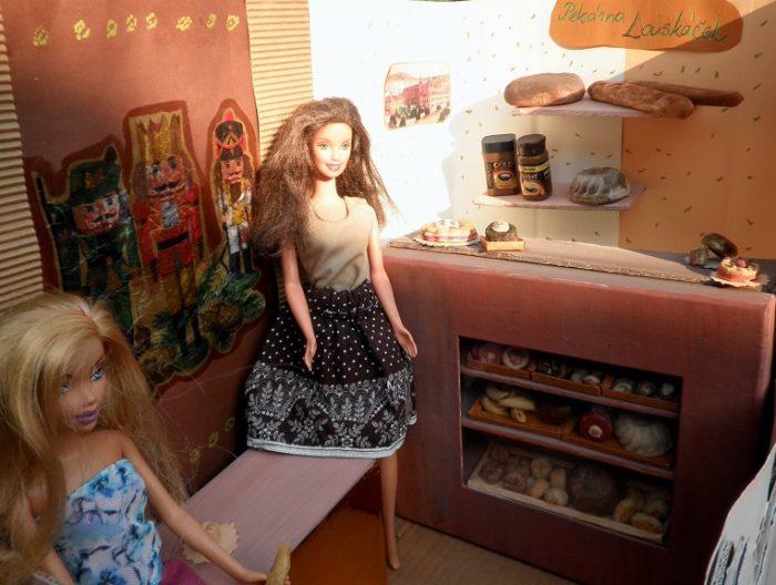 mini pekárna pro Barbie