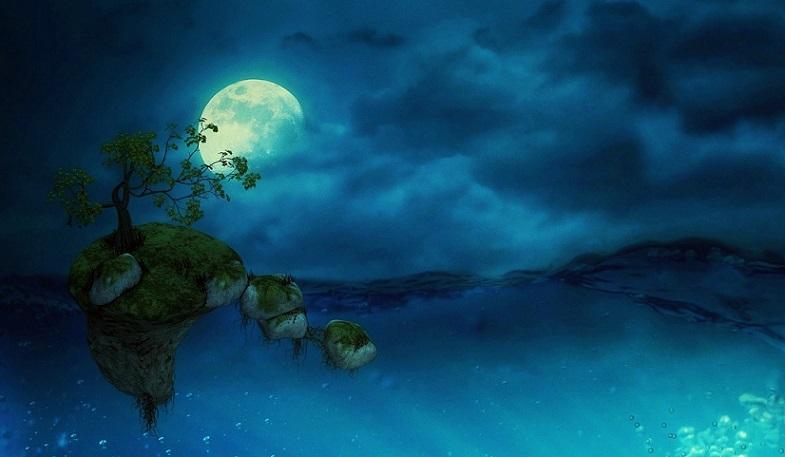 noční pohádkové moře