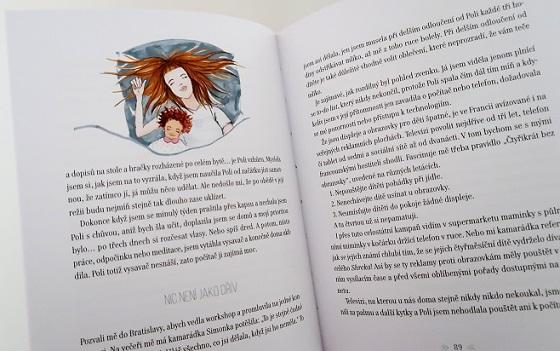 ukázka z knihy Falešná Pařížanka 2 - mateřství