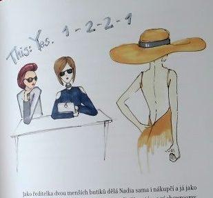 náhled knihy Falešná Pařížanka - módní asistentka