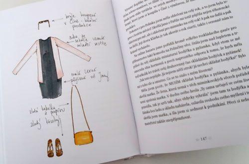outfit z knihy Falešná Pařížanka