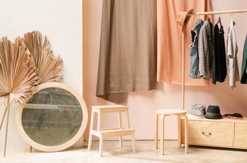 šatník a udržitelná móda