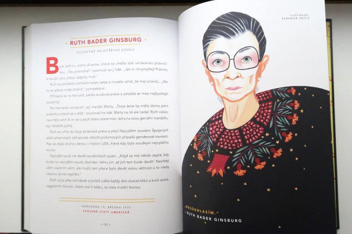 náhled knihy Příběhy na dobrou noc pro malé rebelky - soudkyně