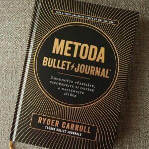kniha Metoda Bullet Journal